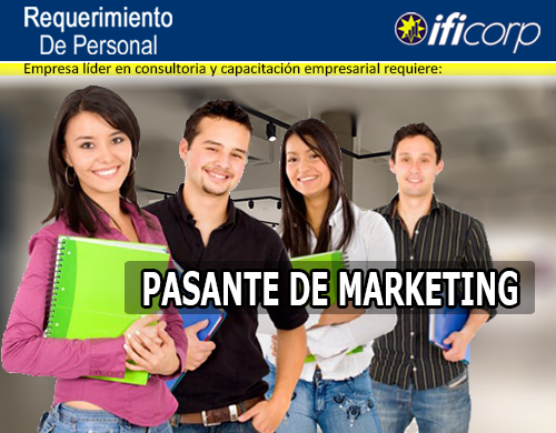 PASANTE DE MARKETING